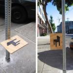 街边的椅子