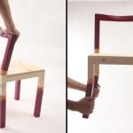 可以弯折的椅子:Apogee Chair