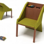带储物格的椅子