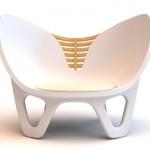 有骨骼椅子