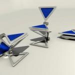 三角形折叠椅