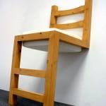 二条腿的椅子