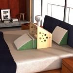 床上专用书桌