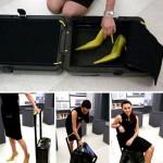 可以当椅子的行李箱