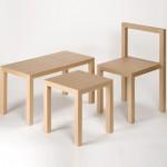 模块化凳子桌子椅子家具:Unit