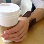 木质咖啡套:Coffee Cuff