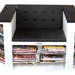 杂志书架椅子HOI Magazine Chair