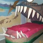 孩子们的恐龙卧室