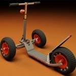 海浪概念滑板车:Triton