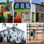 非常酷的10个手绘房子表面装修
