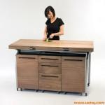 节省空间的厨房创意桌子