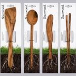 创意木头餐具:Scanwood