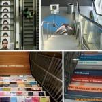 15个自动扶梯及电梯的创意广告