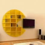 吃豆豆创意书架:Pac-Man Bookcase
