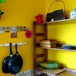 15个黄色系的室内装修