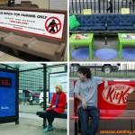 15个在城市坐椅上的创意广告