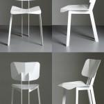 折纸椅:Origami Chair