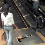 19个扶手电梯上的创意广告