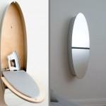 镜子烫衣板柜子灯四合一创意家具