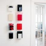 可以用来炫耀藏书的创意透明书架:Hanging Books