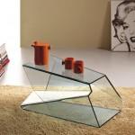 来自Tunelli的创意玻璃咖啡桌(茶几)