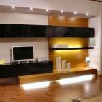 20个电视怎么在客厅摆放和背景墙设计的例子