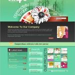 31个高品质的PSD网站模板下载
