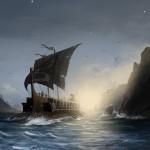 30个关于船的艺术作品
