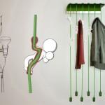 可爱的小人挂钩:MagicBeans hanger