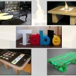 25个创意的咖啡桌设计
