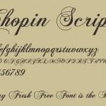 最新的免费字体下载