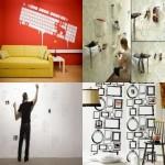 品味装饰:10个创意墙纸装饰