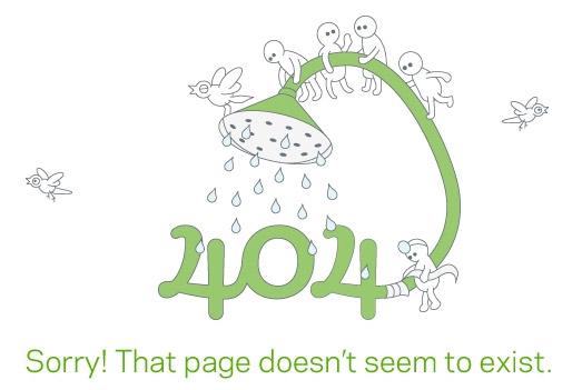 25个创意404错误页面设计