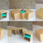 创意家具:模块化咖啡桌