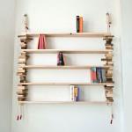 创意的木块书架:Block Shelf