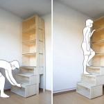 创意的梯子书架:Ladder Shelf