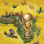 2010南非世界杯插画