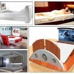 18个创意的高科技时尚床设计