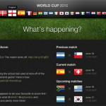 2010年南非世界杯最佳网站设计