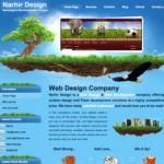 40个大自然风格的网页设计