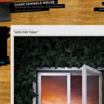 50个使用木质纹理为背景的网页设计