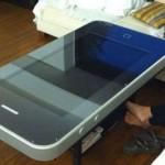 第四代iPhone的创意咖啡桌