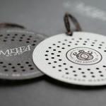 20个圆形的创意商务名片设计