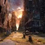 17张世界末日后的大城市插画