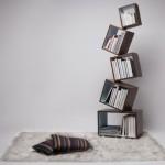 创意家具:创意平衡书架