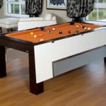 创意家具:台球桌变餐桌