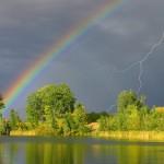 30张迷人的彩虹摄影照片