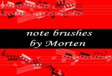 32个免费的音乐Photoshop笔刷下载