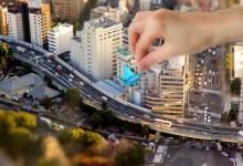 20张城市的移轴摄影照片