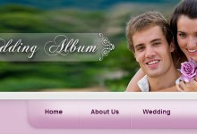 20个免费的婚礼网站模板